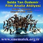 Film Analiz Atölyesi 19 Nisan da basliyor